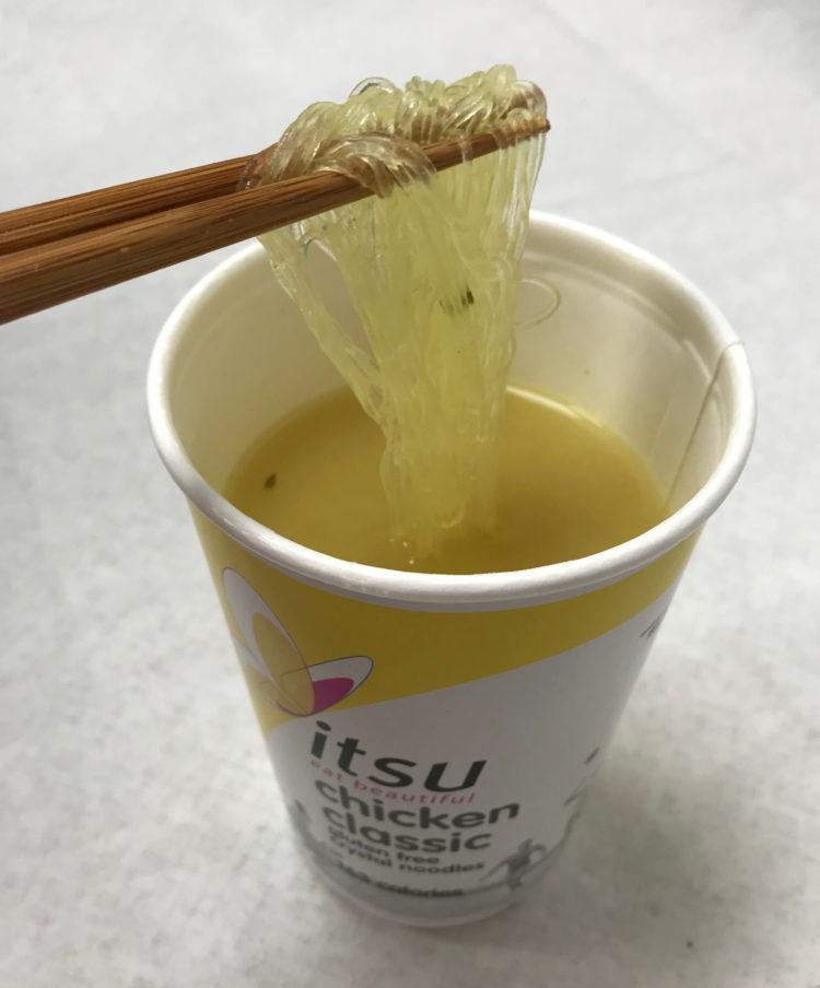 Cup noodles Japanese Tasting Team itsu