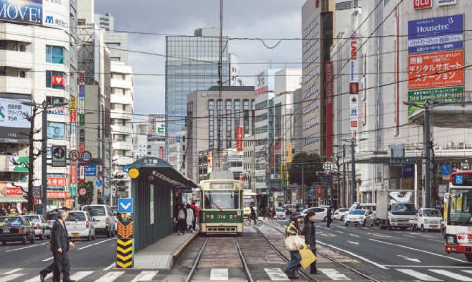 Hiroshima, station, trum