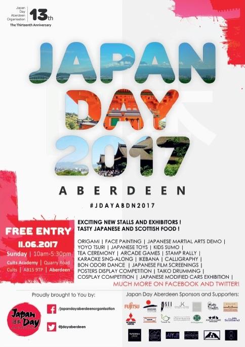 Japan Day Aberdeen 2017