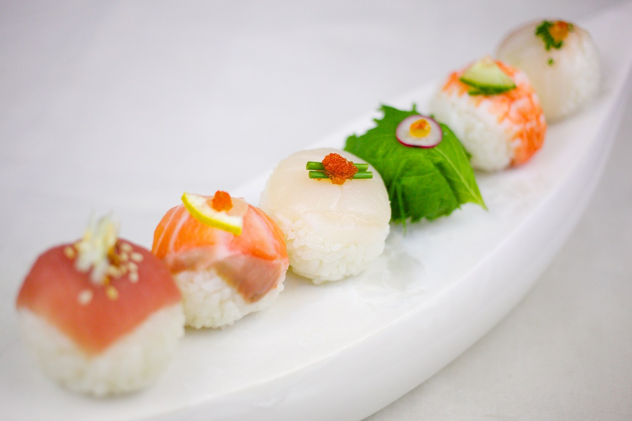 temari sushi, sushi, sozai cooking