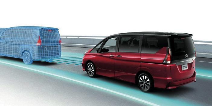 serena, Nissan, self-driving car