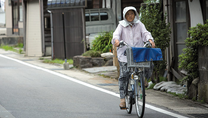 More than half of Suzu's 15,000 inhabitants are aged over 65.