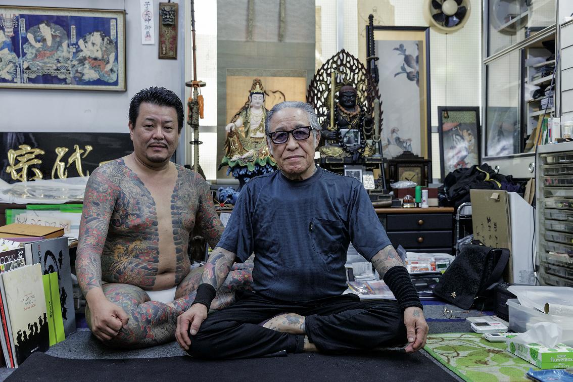 horiyoshi, tattoo