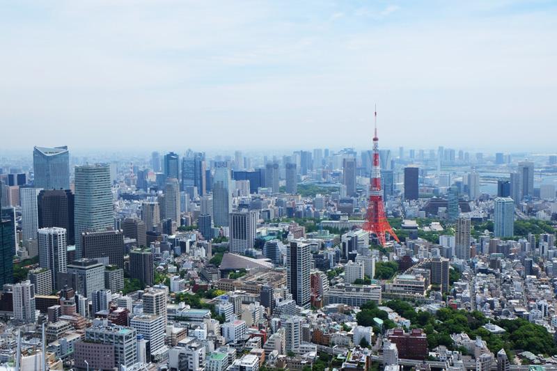 Tokyo 東京 高層ビル building