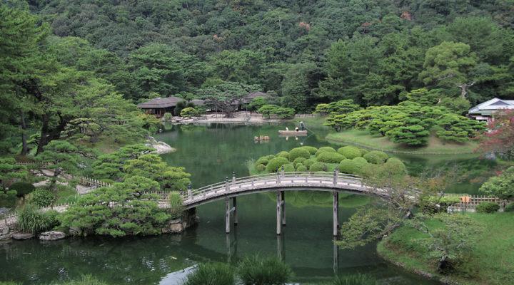 ritsurin garden, takamatsu, japanese garden