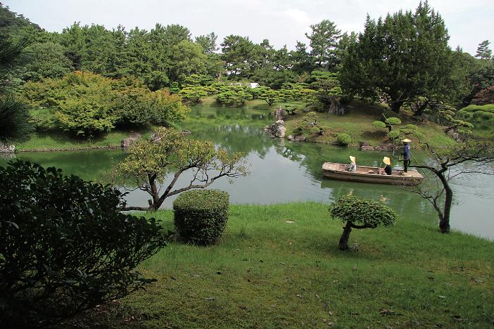 Ritsurin Garden, Japanese garden