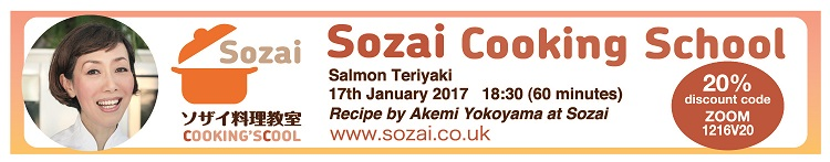 Sozai cooking school, Japanese cooking