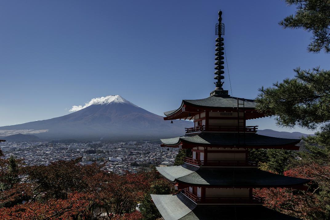 Mount Fuji, fujiyoshida