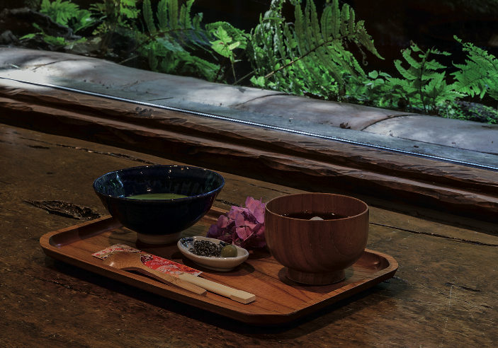 A must-do: a visit to the tea house that opens out onto the beautiful garden conceived by the artist.