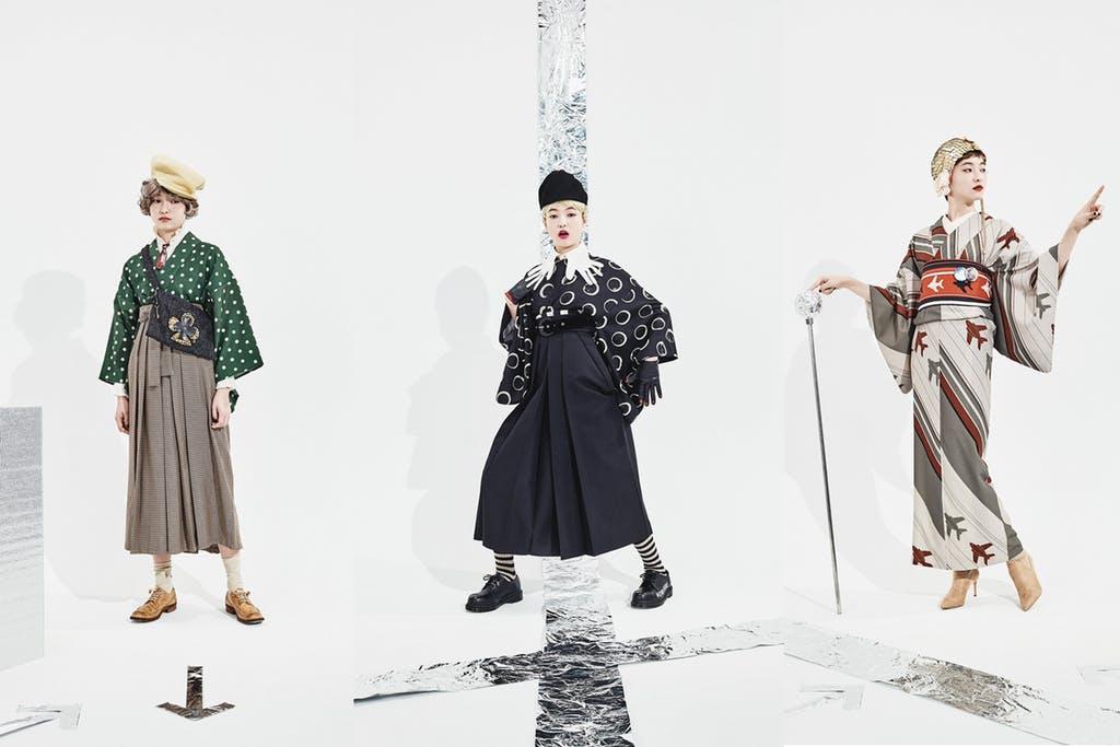 The creation of modern kimono – Kimono Magic Society pop up at Sway Gallery London