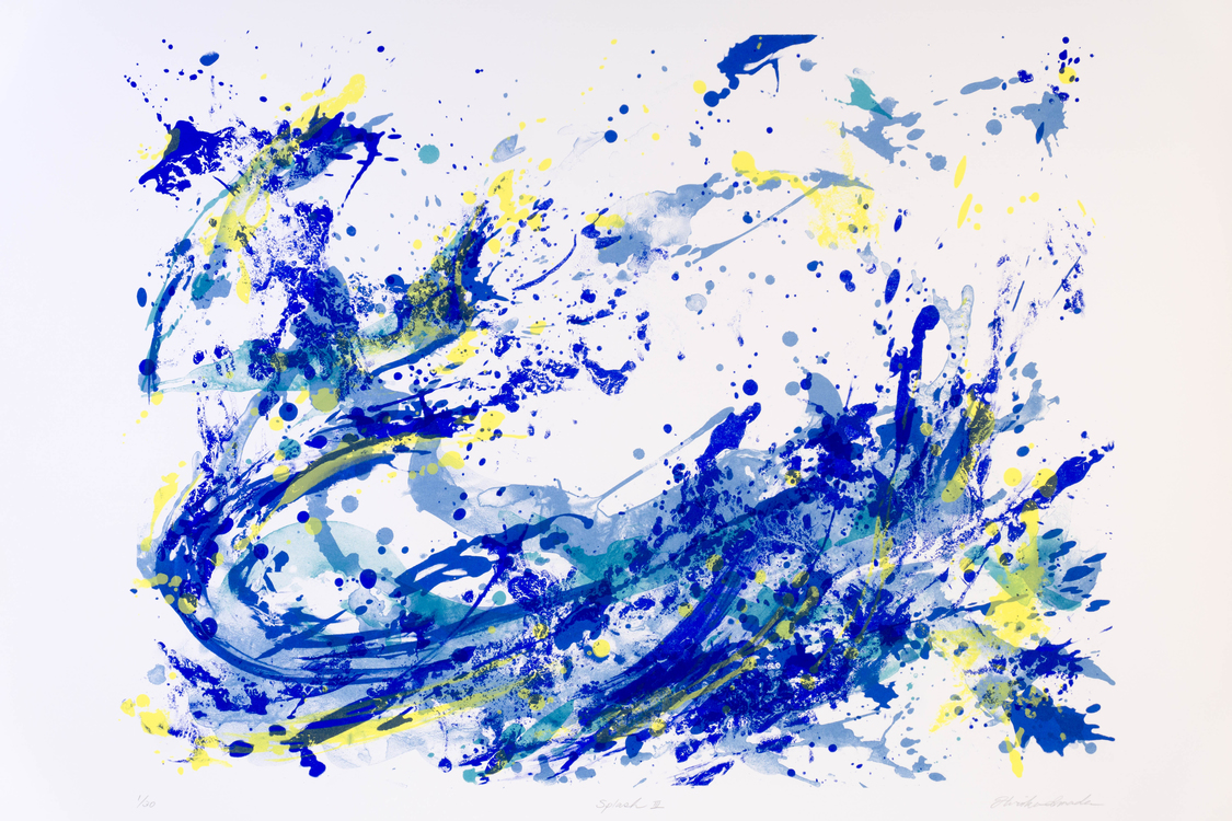 Shapes of Water – Print Works & Works on Paper