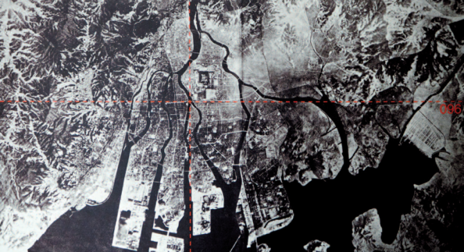 the target, hiroshima, the 6the of August 1945, at 8.15am