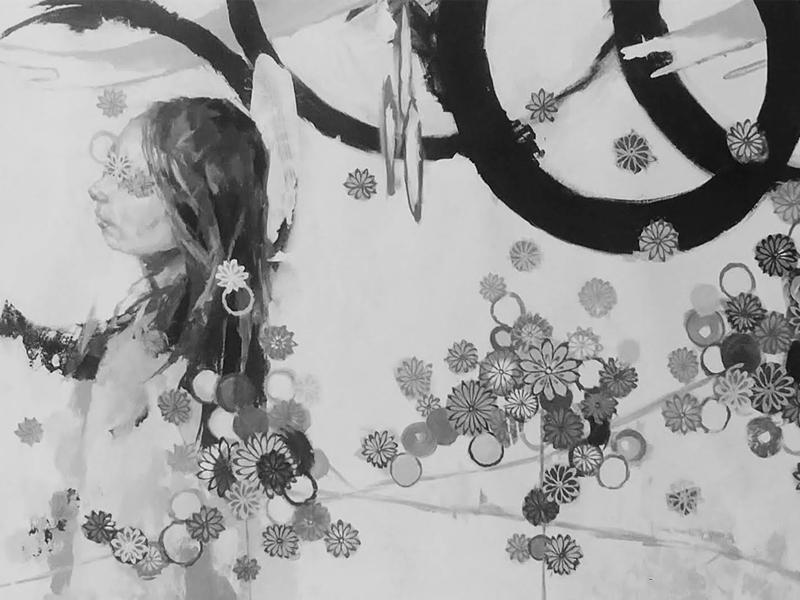 Fading into Shapes and Patterns by Yasunobu Shidami