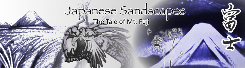 Japanese Sandscapes: The Tale of Mt Fuji (7PM Friday Performance)