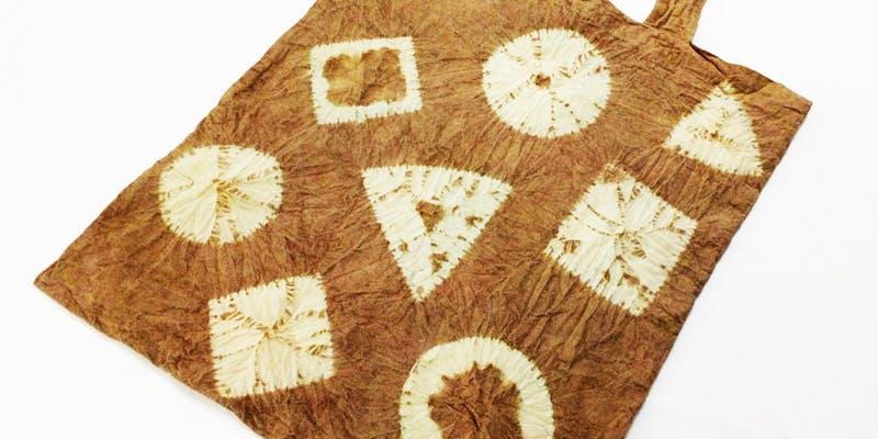 Japanese Natural Dye – Shibori Tote Bag Making