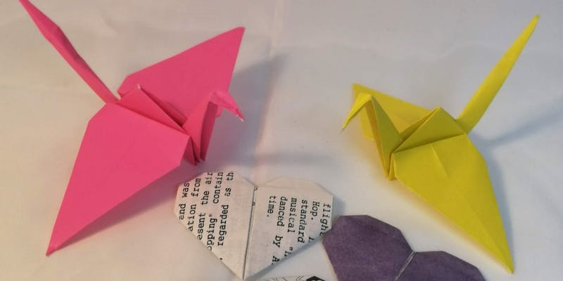 Paper Sculpture – Introduction to Origami