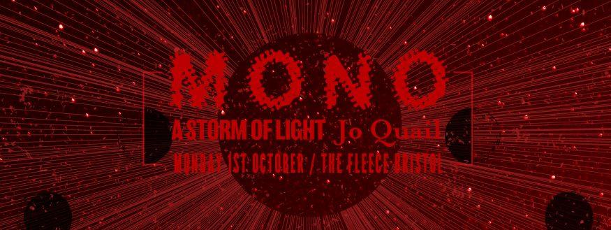 Mono / A Storm Of Light / Jo Quail